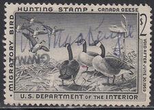 USA  FEDERAL DUCK  USED  1958  Jaffe  RW25u    Value $ 15.00