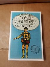 1st Ed.-A Comedy of Murders-1994-George Herman , ARC / Proof