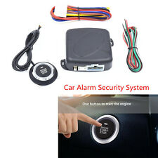 Car Alarm Start Security System Engine Start Keyless Entry Push Button Universal