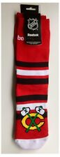 Chicago Blackhawks NHL Hockey su ghiaccio regalo logo Reebok Uomo Calzini