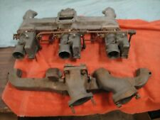 1953 55 Corvette Intakeexhaust Manifold Including Carbs