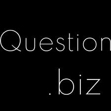 Question.biz premium domain name - No reserve!