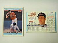 McDonalds Donruss 1992 MVP Cal Ripken, Jr,- Baltimore Orioles (49 card lot) #1