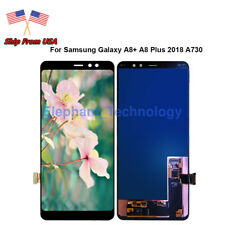 For Samsung Galaxy A8 Plus 2018 A730 A730F LCD Screen Touch Digitizer QC