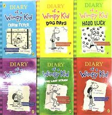 Diary of a Wimpy Kid 6 Books Collection Set-The Ugly Truth,Dog Days