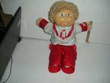 "16"" Cabbage Patch Doll Xavier Roberts 1985 Made In Taiwan Cabbage Patch Outfit"