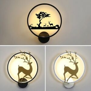 Decor Lamp Fixture Sconce LED Bedside Indoor Wall Light Lighting Bedroom Modern