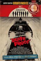 NEW DEATH PROOF GRINDHOUSE OFFICIAL MOVIE ORIGINAL CINEMA PRINT PREMIUM POSTER
