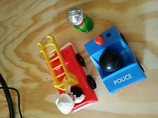 Fisher Price Police Car and Firetruck, Few People