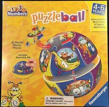 Ravensburger 123 Numbers Jigsaw Puzzle Ball 40 Pieces 2012 New
