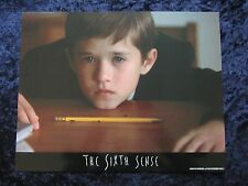 THE SIXTH SENSE lobby card #5 BRUCE WILLIS, HALEY JOEL OSMENT