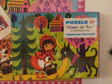 puzzle Le Petit Chaperon Rouge, Fernand Nathan - Cavahel Vintage
