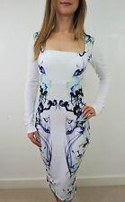Polyester Square Neck Long Sleeve Dresses for Women