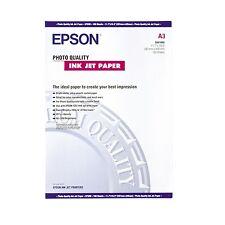 EPSON A3 OPACA RIVESTITA FOTO GETTO D'INCHIOSTRO CARTA 102GSM 100 FOGLI