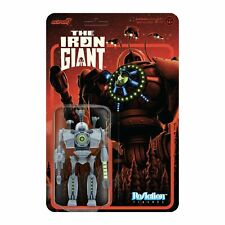 """Super7 The Iron Giant Attack Giant ReAction Figure 3.75"""" New"""