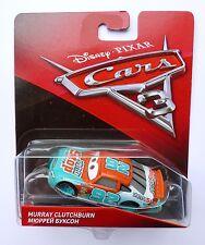 Disney Pixar Cars 3   MURRAY CLUTCHBURN   Very Rare Over 100 Cars Listed UK !!