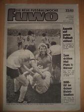 FUWO 33-13.8. 1985 ** Hans-Jürgen Dörner Fußballer des Jahres Wolfgang Schremmer