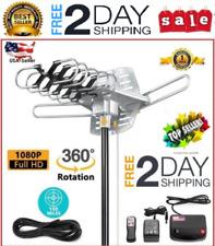 Vilso TV antena exterior motorizado amplificado 360 grado R 150 Millas HD 1080P