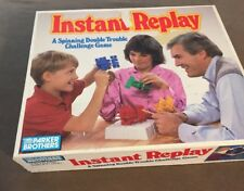 Vintage Parker Brothers Instant Replay Game ~ Complete 1987