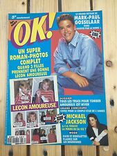 Musique - OK magazine - N°836   -  Mark-Paul Gosselaar, Michael Jackson