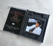 Michael Jackson Thriller Mini Disc Album Rare Play Tested With Case+Lyric Book