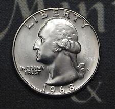 1968-D Bu Washington Quarter Clad Free Shipping Satisfaction Guaranteed!