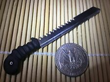 """Zombie Survival Machete"" 1:6 Scale Custom Crafted Steel Miniature By Auret"