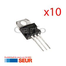 10X  Transistor Darlington BDX33C NPN 100V 10A TO-220