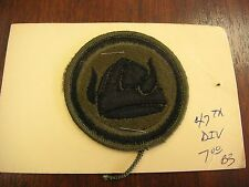 PATCH 47th Div.- Patch #40