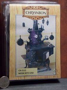 Dollhouse Miniature Kitchen Cook Stove Kit Chrysnbon 1:12 K93 N60 Dollys Gallery