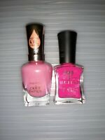 Lot of 2 Sally Hansen - Mauve and Defy & Inspire - Fantasy Bracket Nail Polish