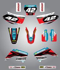 Honda CR 125 / 250 - 2002 - 2012 Full  Custom Graphic  Kit - STRIKE STYLE