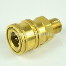More details for jet wash quick release mini 11.6mm female to 1/4 bsp male brass connector