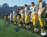 PACKERS Jerry Kramer Bob Skoronski Blaine signed 8x10 photo JSA AUTO Autographed