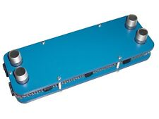 Edelstahl Plattenwärmetauscher zerlegbar 113kW M1-53-18 Würzekühler Teichheizung