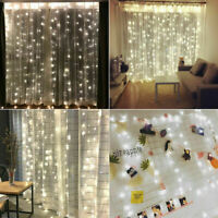 300 LED 3M 9.8ft String Fairy Curtain String Lights Outdoor Indoor Patio Garden