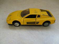 Ferrari Testarossa Diecast MC Toy 1/39
