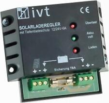 IVT Solarladeregler 6/6A, 12/24V