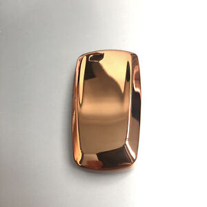 1pcs Fit BMW 5 E90 F10 F20 F30 X3 X4 Smart Key Soft TPU Key Fob Case Cover Gold