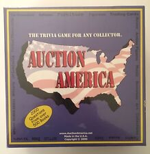 New Sealed Auction America The Trivia Game For Any Collector Unique Gift