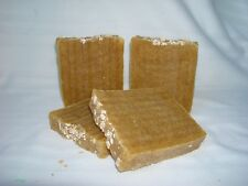 NATURAL ALMOND & HONEY WITH ORGANIC OATMEAL HANDMADE SOAP