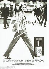 PUBLICITE ADVERTISING 036  1979  Charlie parfum femme de Revlon
