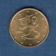 Finlande - 2004 - 50 centimes d'euro - Pièce neuve de rouleau -