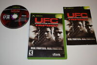 UFC Tapout Microsoft Xbox Video Game Complete