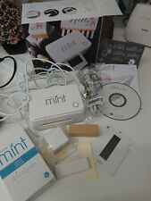 Official Silhouette Mint Custom Stamp Making Machine, UK Stockist,