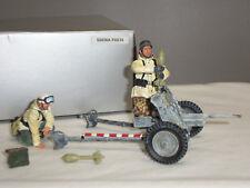 THOMAS GUNN SS036A GERMAN WINTER PAK 36 GUN + CREW ARTILLERY TOY SOLDIER SET
