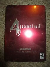 Resident Evil 4 (Collector's Tin Edition) (Nintendo GameCube, 2005) Gamestop NEW