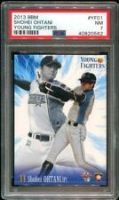 2013 JAPANESE BBM YOUNG FIGHTERS YF01 Ohtani Shohei RC PSA 7 NM