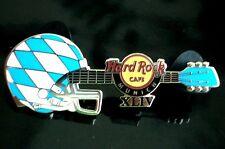 HRC hard rock cafe munich munich Super Bowl 2010 Helmet Guitar le250