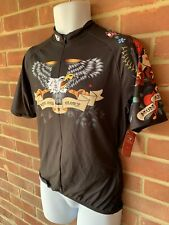 SUGOI 'INKED' CYCLING MTB TOP, JERSEY, SHIRT. LARGE. NEW. FREE P&P